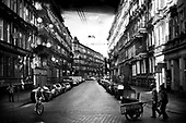 Wroclaw 18.08.2009 Poland<br /> The worst and the most dangerous district in Wroclaw ( Poland ), called by people &quot;The Bermuda Triangle&quot;.<br /> Photo by Adam Lach / Napo Images<br /> <br /> Ulica Miernicza na Trojkacie Bermudzkim. To na niej krecone jest wiekszosc filmow dotyczacych II WS, m.in Lista Schindlera.<br /> Najbardziej nabezpieczna dzielnica we Wroclawiu zwana przez ludzi Trojkatem Bermudzkim.<br /> Fot Adam Lach / Napo Images