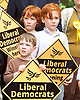 Nick Clegg unveils a new,  poster attacking Theresa May&rsquo;s decision to scrap free school lunches and replace them breakfasts costed at just 7p each. <br /> 31st May 2017 <br /> Geraldine Mary Harmsworth Park, London, Great Britain <br /> <br /> <br /> <br /> Photograph by Elliott Franks <br /> Image licensed to Elliott Franks Photography Services
