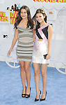 LOS ANGELES, CA - APRIL 12: Singer Madison Reed (L) and actress Victoria Justice arrive at the 2015 MTV Movie Awards at Nokia Theatre L.A. Live on April 12, 2015 in Los Angeles, California.