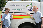 Tegan Crosbie and Chloe Thornton when the Coastguard visited Marymount NS to give a talk about Water Safety...Photo NEWSFILE/Jenny Matthews.(Photo credit should read Jenny Matthews/NEWSFILE)....This Picture has been sent you under the condtions enclosed by:.Newsfile Ltd..The Studio,.Millmount Abbey,.Drogheda,.Co Meath..Ireland..Tel: +353(0)41-9871240.Fax: +353(0)41-9871260.GSM: +353(0)86-2500958.email: pictures@newsfile.ie.www.newsfile.ie.FTP: 193.120.102.198.