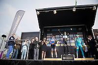 podium:<br /> 1/  Niki Terpstra (NLD/OPQS)<br /> 2/ Tyler Farrar (USA/Garmin-Sharp)<br /> 3/ Borut Božic (SVN/Astana)<br /> <br /> Dwars Door Vlaanderen 2014