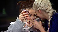 Jess Impiazzi and Ashley James.<br /> Celebrity Big Brother 2018 - Day 7<br /> *Editorial Use Only*<br /> CAP/KFS<br /> Image supplied by Capital Pictures