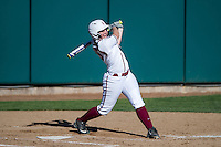Stanford, CA, February 21, 2016<br /> Stanford Women's Softball vs. St.Mary's at the Boyd & Jill Smith Family Stadium. Stanford won 6-4.