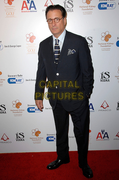 ANDY GARCIA.30th Annual The Gift Of Life Celebration held At The Beverly Wilshire Hotel, Beverly Hills, California, USA..May 3rd, 2009.full length black suit hand in pocket .CAP/ADM/KB.©Kevan Brooks/AdMedia/Capital Pictures.
