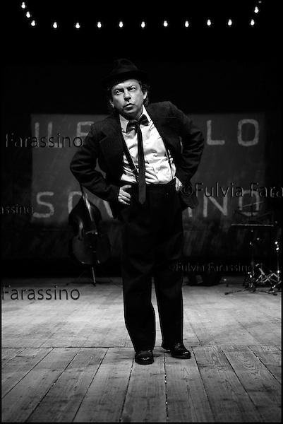 Bologna 19/03/2004.Paolo Rossi
