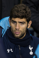 Federico Fazio of Tottenham Hotspur on the bench during the UEFA Europa League Group J match between Tottenham Hotspur and R.S.C. Anderlecht at White Hart Lane, London, England on 5 November 2015. Photo by Andy Rowland.