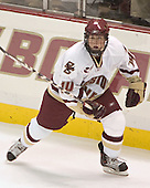 Matt Greene  The Boston College Eagles defeated the Providence College Friars 3-2 in regulation on October 29, 2005 at Kelley Rink in Conte Forum in Chestnut Hill, MA.  It was BC's first Hockey East win of the season and Providence's first HE loss.