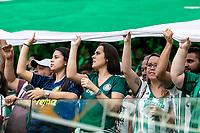 SÃO PAULO, SP, 07.04.2019: PALMEIRAS-SÃO PAULO - A torcida do Palmeiras, durante partida entre Palmeiras e São Paulo, válida pela Semifinal do Campeonato Paulista 2019, no Allianz Parque, em São Paulo (SP), neste domingo (07). (Foto: Marivaldo Oliveira /Código19)