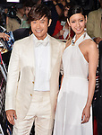 """Byung-hun Lee and Nanao, May 27, 2013 : Tokyo, Japan : South Korean Actor Byung hun Lee(L) and Japanese model Nanao attend the Japan premiere for the film """"G.I.Joe:Retaliation"""" in Tokyo, Japan, on May 27, 2013. The film will open on June 7 in Japan. (Photo by Keizo Mori/AFLO)"""