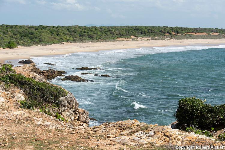 Coastland beach, Yala National Park, Sri Lanka