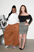 "Jade Williams and Dee Hughes<br /> at launch photocall for MTV's ""True Love or True Lies?"", London<br /> <br /> ©Ash Knotek  D3417  07/08/2018"