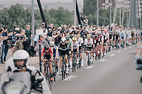 Thomas de Gendt (BEL/Lotto-Soudal) leading the peloton<br /> <br /> 104th Tour de France 2017<br /> Stage 2 - Düsseldorf › Liège (203.5km)
