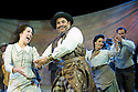 Oklahoma by Rogers and Hammerstein, Directed by John Doyle. With Natalie Casey as Ado Annie,Michael Matus as Ali Hakim.Opens at The Chichester Festival Theatre on 24/6/09. CREDIT Geraint Lewis
