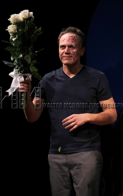 Michael Shannon during the Opening Night Performance Curtain Call for 'Grace' at the Cort Theatre in New York City on 10/4/2012.