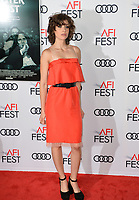 Alison Brie at the AFI Fest premiere for &quot;The Disaster Artist&quot; at the TCL Chinese Theatre. Los Angeles, USA 12 November  2017<br /> Picture: Paul Smith/Featureflash/SilverHub 0208 004 5359 sales@silverhubmedia.com