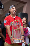 1238 Alex Cora &  Red Sox Visit, Caguas, Puerto Rico