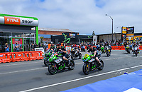 The 2018 Suzuki series Cemetery Circuit motorcycle racing at Cooks Gardens in Wanganui, New Zealand on Wednesday, 28 December 2018. Photo: Dave Lintott / lintottphoto.co.nz