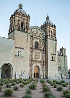 Church of Santo Domingo de Guzmán in Oaxaca, Mexico. <br /> <br /> Photo by Matt Nager
