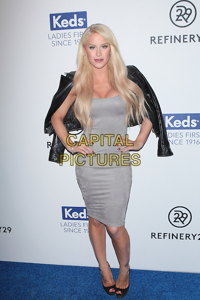 NEW YORK, NY - FEBRUARY 10: Gigi Gorgeous attends Keds Centennial Celebration at Studio 548 on February 10, 2016 in New York City.  <br /> CAP/MPI99<br /> &copy;MPI99/Capital Pictures