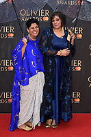 Meera Syal<br /> arriving for the Olivier Awards 2018 at the Royal Albert Hall, London<br /> <br /> ©Ash Knotek  D3392  08/04/2018