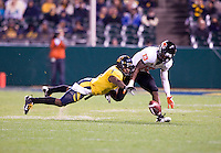 November 12th, 2011:  Steve Williams of California tries to fight for the ball during a game against Oregon State at AT&T Park in San Francisco, Ca  -  California defeated Oregon State 23 - 6