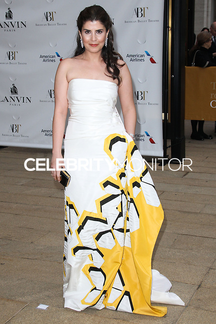 NEW YORK CITY, NY, USA - MAY 12: Camelia Entekhabifard at the American Ballet Theatre 2014 Opening Night Spring Gala held at The Metropolitan Opera House on May 12, 2014 in New York City, New York, United States. (Photo by Celebrity Monitor)