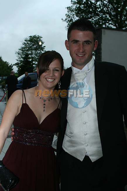 Katie McDonnell and Matthew McEvoy at St. Joseph's Grad in The Park Inn Hotel in Dundalk...Photo NEWSFILE/Jenny Matthews.(Photo credit should read Jenny Matthews/NEWSFILE)....This Picture has been sent you under the condtions enclosed by:.Newsfile Ltd..The Studio,.Millmount Abbey,.Drogheda,.Co Meath..Ireland..Tel: +353(0)41-9871240.Fax: +353(0)41-9871260.GSM: +353(0)86-2500958.email: pictures@newsfile.ie.www.newsfile.ie.FTP: 193.120.102.198.