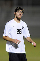 Mark Linnville (26) of the Princeton Tigers. UMBC Retrievers defeated Princeton Tigers 2-1 during the first round of the 2010 NCAA Division 1 Men's Soccer Championship at Roberts Stadium in Princeton, NJ, on November 18, 2010.