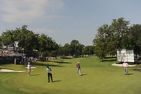 Paul Casey (GBR) watches his putt on 18 during round 2 of the Dean &amp; Deluca Invitational, at The Colonial, Ft. Worth, Texas, USA. 5/26/2017.<br /> Picture: Golffile | Ken Murray<br /> <br /> <br /> All photo usage must carry mandatory copyright credit (&copy; Golffile | Ken Murray)