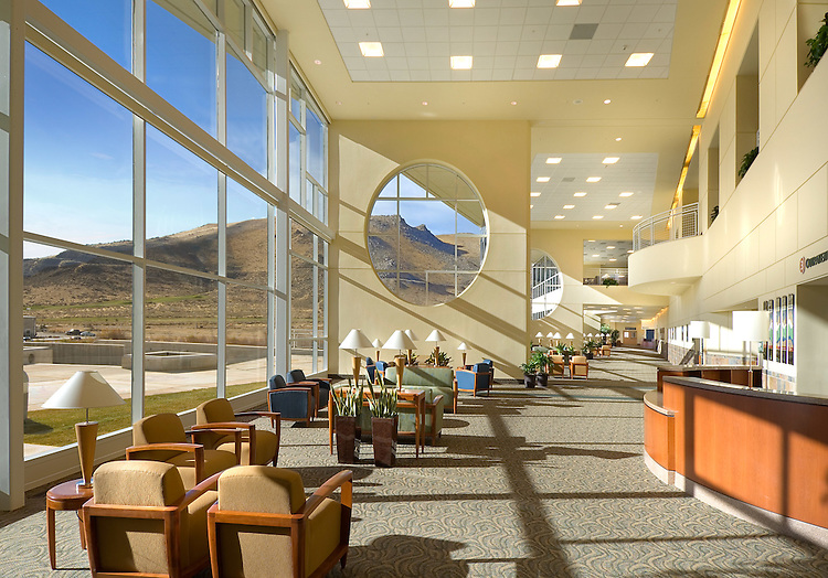 Carson Tahoe Medical Center - Carson City, NV for Moon Mayoras Architects, Brandt Design Group