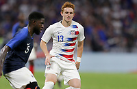Lyon, France - Saturday June 09, 2018: Josh Sargent during an international friendly match between the men's national teams of the United States (USA) and France (FRA) at Groupama Stadium.