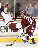 101205-Harvard University Crimson at Boston College Eagles WIH + Skate with the Eagles