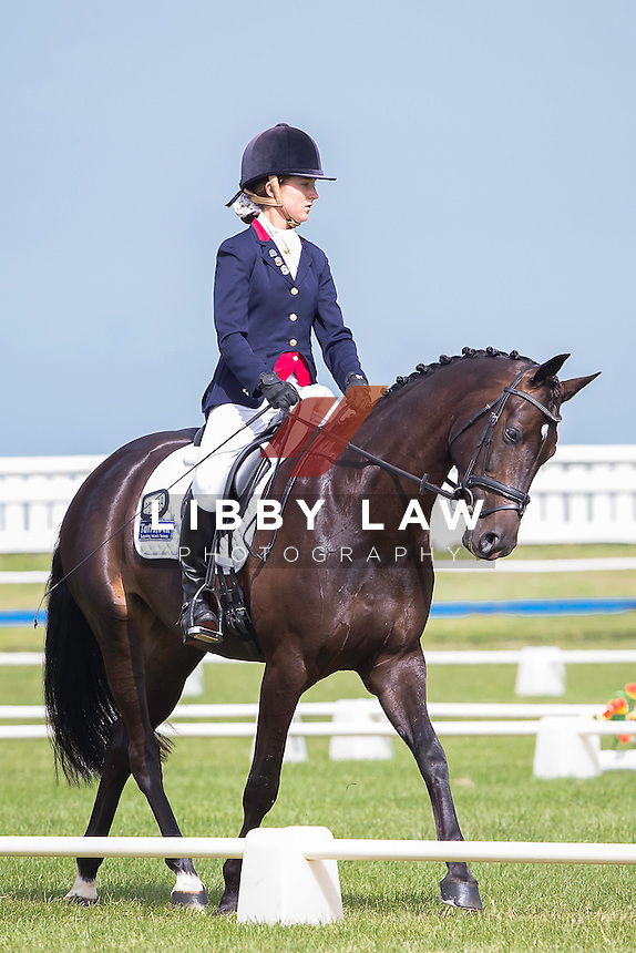 NZL-Mihi Shepherd (HOT CHOCOLATE MH) 2015 NZL-SAMSUNG/GTL Networks NZ Pony and Young Rider Championships (Thursday 15 January) CREDIT: Libby Law COPYRIGHT: LIBBY LAW PHOTOGRAPHY