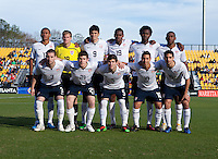 USMNT U20's vs Mexico, Torneo de las Americas in Kennesaw, Ga, Sunday, Nov. 28, 2010.