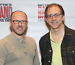 Chris Bailey and John Rando attends the Meet and Greet for Broadway's 'Gettin' the Band Back Together' on May 4, 2018 at Manhattan Movement & Arts Center in New York City.