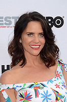 "LOS ANGELES - July 15:  Amy Landecker at the ""Transparent"" Season 4 Sneak Peek at Outfest LGBT Film Festival at the Directors Guild of America Theater on July 15, 2017 in Los Angeles, CA"