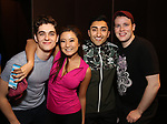 "Kyle Selig, Ashley Parker, Nikhil Saboo and Grey Henson during the Actors' Equity Opening Night Gypsy Robe Ceremony honoring Brendon Stimson for ""Mean Girls"" at the August Wilson Theatre Theatre on April 8, 2018 in New York City."