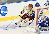 Kevin Hayes (BC - 12), Chad Demers (Air Force - 17), Jason Torf (Air Force - 29) - The Boston College Eagles defeated the Air Force Academy Falcons 2-0 in their NCAA Northeast Regional semi-final matchup on Saturday, March 24, 2012, at the DCU Center in Worcester, Massachusetts.