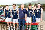 The Glen/Ballinskellis U16 Boys Crew who took second at the OTW Regatta in Cahersiveen pictured l-r; Sean Scanlon, Liam Sugrue, Kieran O'Sullivan(cox), Daniel Cronin, Kevin O'Sullivan & Alan Goggin.  Killorglin took first place and Callinafercy came in third place.
