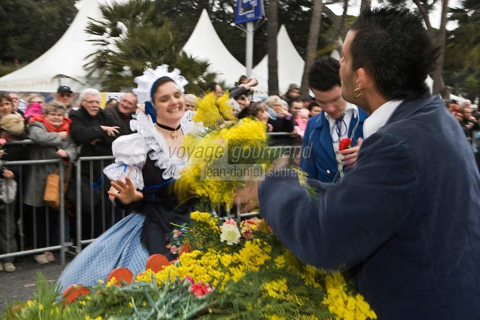Europe/France/06/Alpes-Maritimes/Nice: Défilé du Carnaval de Nice-le corso fleuri [Non destiné à un usage publicitaire - Not intended for an advertising use]