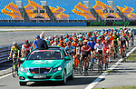 The start of Stage 6 of the Presidential Cycling Tour of Turkey 2017 running 143.7km from Istanbul to Istanbul, Turkey. 15/10/2017.<br /> Picture: Brian Hodes/VeloImages | Cyclefile<br /> <br /> <br /> All photos usage must carry mandatory copyright credit (&copy; Cyclefile | Brian Hodes/VeloImages)