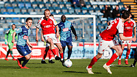 Fleetwood Town's Paddy Madden plays a through ball<br /> <br /> Photographer Andrew Kearns/CameraSport<br /> <br /> The EFL Sky Bet League One - Wycombe Wanderers v Fleetwood Town - Saturday 4th May 2019 - Adams Park - Wycombe<br /> <br /> World Copyright © 2019 CameraSport. All rights reserved. 43 Linden Ave. Countesthorpe. Leicester. England. LE8 5PG - Tel: +44 (0) 116 277 4147 - admin@camerasport.com - www.camerasport.com