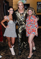 "LOS ANGELES, CA - JULY 09: Polish Popstar KUBA Ka on the set of his new feature film ""Live Nude Girls"" at Deja Vu on July 9, 2013 in Los Angeles, California. (Photo by Celebrity Monitor)"