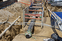 UConn Steam and Condensate Line and Vault Replacement Project. Task No. 02 - Progress Documentation 12 July 2017. Number 15 of 38 Images