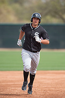 Chicago White Sox third baseman Justin Yurchak (63) during a Minor League Spring Training game against the Chicago White Sox at Camelback Ranch on March 16, 2018 in Glendale, Arizona. (Zachary Lucy/Four Seam Images)