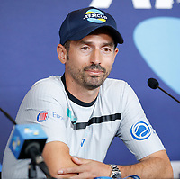 2nd January 2020; RAC Arena , Perth, Western Australia, Australia; ATP Cup Team Press conferences, Spain; Interim Captain of Italy Simone Vagnozzi speaks during the team press conference - Editorial Use