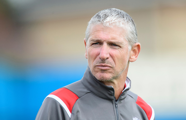Lincoln City's head of football Jez George<br /> <br /> Photographer Chris Vaughan/CameraSport<br /> <br /> Football Pre-Season Friendly (Community Festival of Lincolnshire) - Gainsborough Trinity v Lincoln City - Saturday 6th July 2019 - The Martin & Co Arena - Gainsborough<br /> <br /> World Copyright © 2018 CameraSport. All rights reserved. 43 Linden Ave. Countesthorpe. Leicester. England. LE8 5PG - Tel: +44 (0) 116 277 4147 - admin@camerasport.com - www.camerasport.com