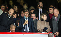Crystal Palace co-Owner Steve Parish has a drink during the Premier League match between Crystal Palace and Manchester City at Selhurst Park, London, England on 31 December 2017. Photo by Andy Rowland.