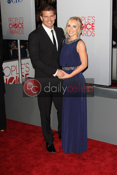David Boreanaz, Jaime Bergman<br />