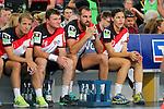 Team Kretsches Lucie Marie Kretzschmar (Nr.17), Team Kretsches Jens Eicken (Nr.14), Team Kretsches Christoph Metzelder (Nr.21) und Team Kretsches Oliver Pocher (Nr.96) beim Tag des Handballs - Team Frank Buschmann vs. Team Stefan Kretzschmar.<br /> <br /> Foto &copy; P-I-X.org *** Foto ist honorarpflichtig! *** Auf Anfrage in hoeherer Qualitaet/Aufloesung. Belegexemplar erbeten. Veroeffentlichung ausschliesslich fuer journalistisch-publizistische Zwecke. For editorial use only.